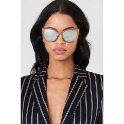 Cheap Monday Okulary przeciwsłoneczne Forever - Brown. Brązowe okulary przeciwsłoneczne damskie aviatory Cheap Monday. Za 100,95 zł.