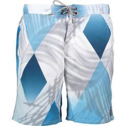 """Szorty kąpielowe """"Trooping"""" w kolorze niebiesko-białym. Niebieskie szorty męskie marki Brunotti, m, z denimu. W wyprzedaży za 86,95 zł."""