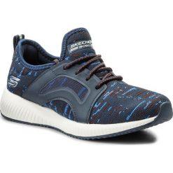Buty SKECHERS - BOBS SPORT Double Dare 31363/NVBL Navy/Blue. Niebieskie buty sportowe damskie marki Salomon, z gore-texu, na sznurówki, do biegania, gore-tex. W wyprzedaży za 149,00 zł.