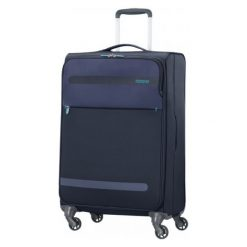 American Tourister Walizka Herolite 67 Cm Granatowa. Szare walizki American Tourister, w kolorowe wzory. W wyprzedaży za 399,00 zł.