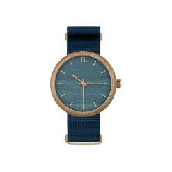 Drewniany zegarek new hoop 43 n043. Niebieskie zegarki męskie Neatbrand. Za 385,00 zł.