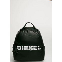 Diesel - Plecak. Szare plecaki damskie Diesel, z poliesteru. Za 549,90 zł.