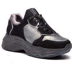 Sneakersy BRONX - 66167-HA BX 1525 Black 01. Czarne sneakersy damskie marki Bronx, z materiału. W wyprzedaży za 419,00 zł.