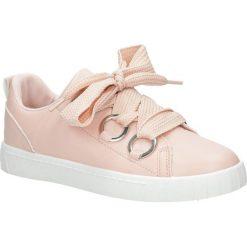 Różowe buty sportowe creepersy na platformie sznurowane Casu AB-67. Czarne buty sportowe damskie marki Casu. Za 69,99 zł.