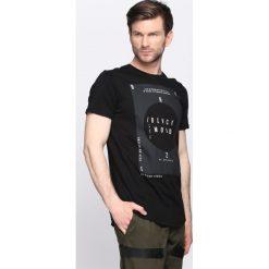 T-shirty męskie z nadrukiem: Czarna Koszulka Black Mood