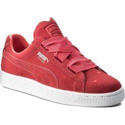 Buciki niemowlęce: Puma Buty juniorskie Suede Heart Jr czerwone r. 38.5 (365135-01)