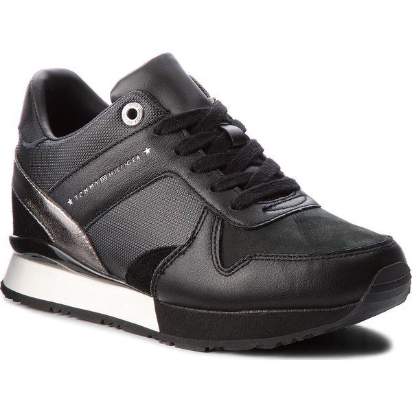 5ad83b5cc22 Sneakersy TOMMY HILFIGER - Sneaker Wedge FW0FW02977 Black 990 ...