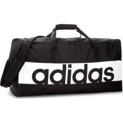 Torba adidas - Lin Per Tb L S99964  Black/White/White. Czarne plecaki męskie Adidas, z materiału. W wyprzedaży za 129,00 zł.