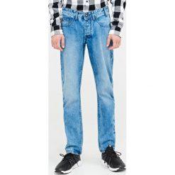 Jeansy męskie regular: Jeansy regular fit - Niebieski