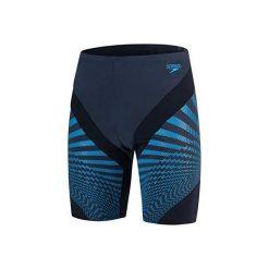 Kąpielówki męskie: Speedo Kąpielówki Męskie Chevron Spl Jam Am Grey/Blue r. 34 (811349C587)