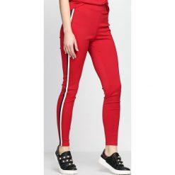 Spodnie dresowe damskie: Czerwone Spodnie Dresowe Don't It