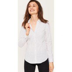 Koszula slim - Wielobarwn. Niebieskie koszule damskie marki House, m. W wyprzedaży za 39,99 zł.