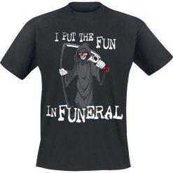 T-shirty męskie z nadrukiem: Fun In Funeral Fun In Funeral T-Shirt czarny