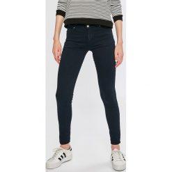 Answear - Jeansy. Czarne rurki damskie ANSWEAR, z bawełny. W wyprzedaży za 79,90 zł.