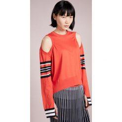 MRZ PARICOLLO ML RIGATTO Sweter red/black/opticalwhite - 2