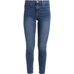 Topshop JAMIE NEW Jeans Skinny Fit rich. Niebieskie jeansy damskie relaxed fit marki Topshop, z bawełny. Za 229,00 zł.