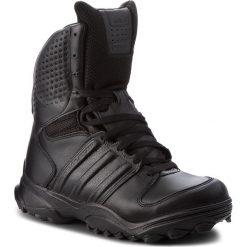 Buty adidas - GSG-9.2 807295 Black1/Black1/Black1. Czarne buty trekkingowe męskie Adidas, z materiału, outdoorowe, climaproof (adidas). W wyprzedaży za 519,00 zł.