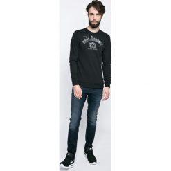 Blend - Bluza. Szare bluzy męskie rozpinane marki Blend, l, z nadrukiem, z bawełny, bez kaptura. W wyprzedaży za 79,90 zł.