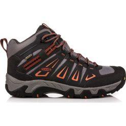 Buty trekkingowe męskie: Keen Buty męskie Oakridge WP Mid Raven/Burnt Ochre r. 44.5 (11539)