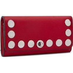 Duży Portfel Damski MICHAEL KORS - Rivington Stud 32S7SR7F3L  Bright Red. Czerwone portfele damskie MICHAEL Michael Kors, ze skóry. W wyprzedaży za 479,00 zł.