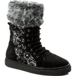 Kozaki dziewczęce: Kozaki STUART WEITZMAN – B171320 D-Luxury Black/Serraje