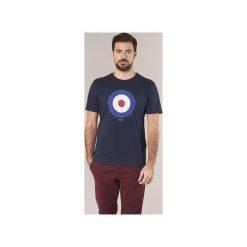 T-shirty z krótkim rękawem Ben Sherman  TARGET T-SHIRT. Niebieskie t-shirty męskie marki Ben Sherman, m. Za 159,00 zł.