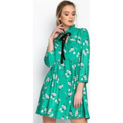 Zielona Sukienka Beauty Total. Zielone sukienki letnie marki Reserved, z wiskozy. Za 99,99 zł.