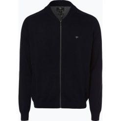 Fynch Hatton - Kardigan męski, niebieski. Niebieskie swetry rozpinane męskie Fynch-Hatton, m, z bawełny. Za 349,95 zł.