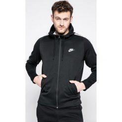 Nike Sportswear - Bluza. Różowe bluzy męskie rozpinane marki Nike Sportswear, l, z nylonu, z okrągłym kołnierzem. W wyprzedaży za 219,90 zł.