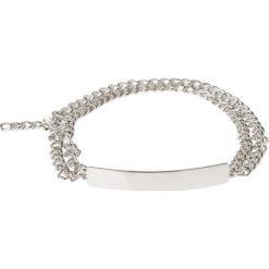 Paski damskie: Vanzetti Pasek silvercoloured