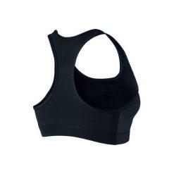 Stanik fitness kardio. Czarne biustonosze sportowe marki Nike, z elastanu. Za 99,99 zł.