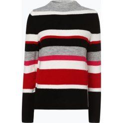 Comma casual identity - Sweter damski, czerwony. Czerwone swetry klasyczne damskie comma casual identity, z dzianiny, ze stójką. Za 299,95 zł.