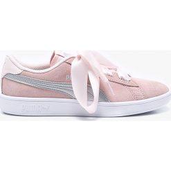 Buty sportowe dziewczęce: Puma - Buty dziecięce Smash v2 Ribbon