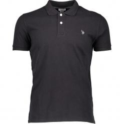 Koszulka polo w kolorze czarnym. Niebieskie koszulki polo marki GALVANNI, l, z okrągłym kołnierzem. W wyprzedaży za 121,95 zł.