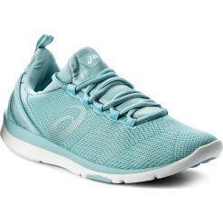 Buty ASICS - Gel-Fit Sana 3 S751N Porcelain Blue/Silver/White 1493. Czarne buty do biegania damskie marki Asics. W wyprzedaży za 259,00 zł.