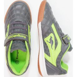 KangaROOS POWER COMB  Tenisówki i Trampki steel grey/lime. Szare trampki chłopięce KangaROOS, z gumy. Za 149,00 zł.