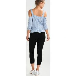 Bluzki asymetryczne: Miss Selfridge Petite STAR STRIPE Bluzka blue