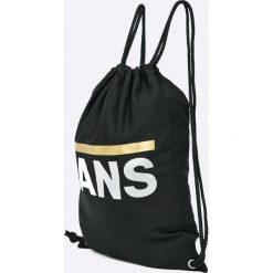 Vans - Plecak. Czarne plecaki damskie Vans, z bawełny. Za 69,90 zł.