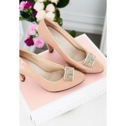 Buty ślubne damskie: Beżowe Czółenka Light Love