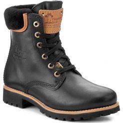 Trapery PANAMA JACK - Panama 03 Igloo Travelling B2 Black. Czarne buty zimowe damskie Panama Jack, z materiału. Za 919,00 zł.