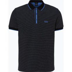 BOSS Athleisurewear - Męska koszulka polo – Paddy 5, czarny. Czarne koszulki polo Athleisurewear od BOSS, l, w paski. Za 479,95 zł.