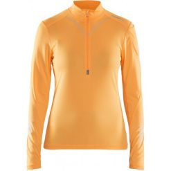Craft Bluza Termoaktywna Brilliant 2.0 Orange M. Pomarańczowe bluzy sportowe damskie Craft, s, z materiału. Za 159,00 zł.