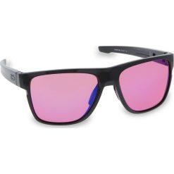 Okulary przeciwsłoneczne OAKLEY - Crossrange XL OO9360-0358 Carbon/Prizm Trail. Szare okulary przeciwsłoneczne męskie aviatory Oakley, z tworzywa sztucznego. W wyprzedaży za 579,00 zł.