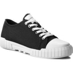 Trampki CALVIN KLEIN JEANS - Beato S1748 Black. Czarne trampki męskie marki Calvin Klein Jeans, z gumy. Za 519,00 zł.