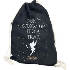 Torebki i plecaki damskie: Tinker Bell Don´t Grow Up Torba treningowa czarny