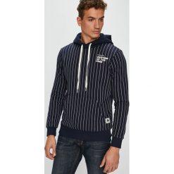 G-Star Raw - Bluza. Czarne bluzy męskie rozpinane marki G-Star RAW, l, z bawełny, z kapturem. W wyprzedaży za 479,90 zł.