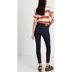 Madewell HIGH RISE  Jeans Skinny Fit lucielle. Niebieskie jeansy damskie relaxed fit Madewell, z bawełny. Za 549,00 zł.