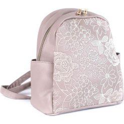 Plecaki damskie: Art of Polo Plecak damski Urban elegance różowy