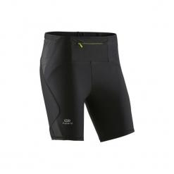 Krótkie legginsy do biegania TRAIL damskie. Szare legginsy marki Adidas, ze skóry. Za 59,99 zł.