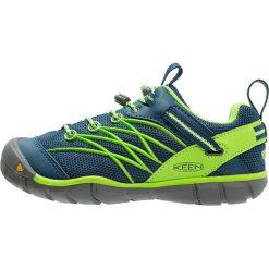 Keen CHANDLER CNX Półbuty trekkingowe poseidon/jasmine green. Niebieskie buty skate męskie marki Keen, z gumy, outdoorowe. Za 249,00 zł.